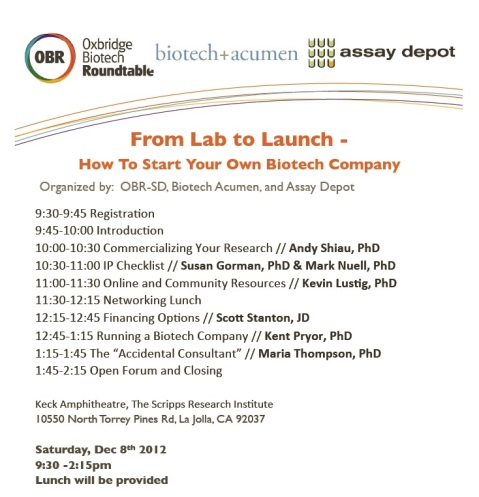 Lab to Launch