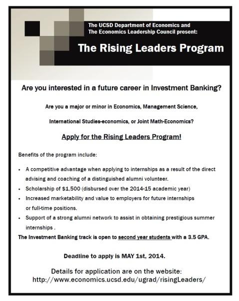 Rising Leaders program
