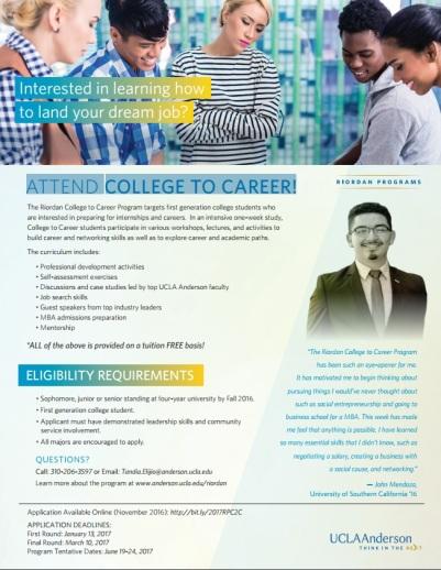 riordan-college-to-career-flyer