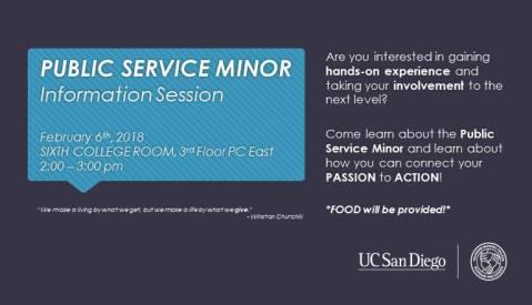 public service minor
